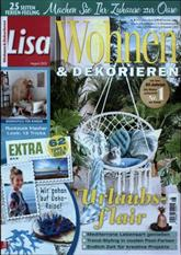 lisa wohnen und dekorieren. Black Bedroom Furniture Sets. Home Design Ideas